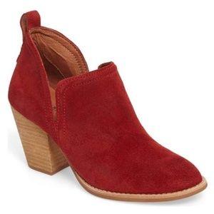JEFFREY CAMPBELL Rosalie Split Shaft Suede Boots